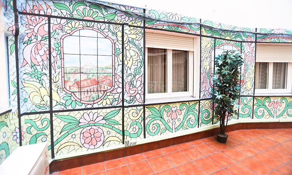 Patio decoración Casa Lis