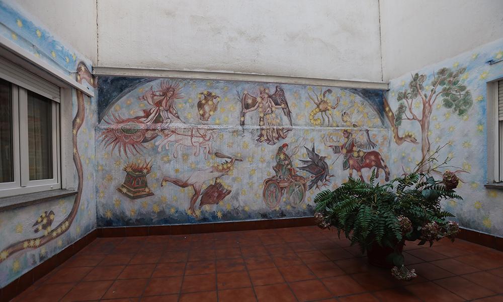 Patio decoración Cielo de Salamanca